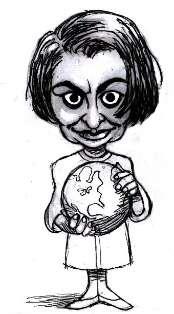 Ayn Rand Caricature