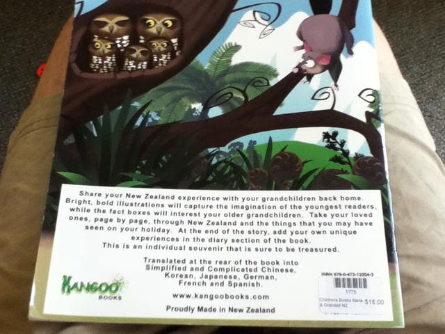 Kangoo Children's book